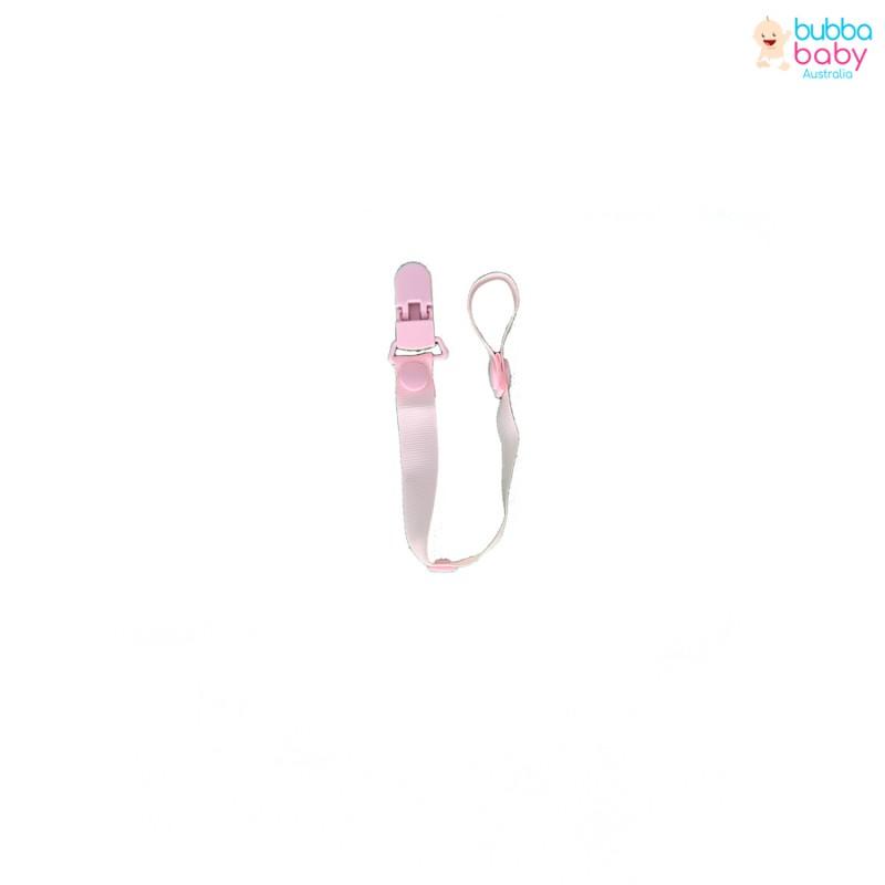 Baby Pink Dummy Clip