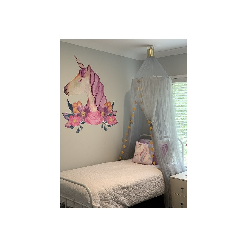 Grey Baby/Kids Bed Canopy