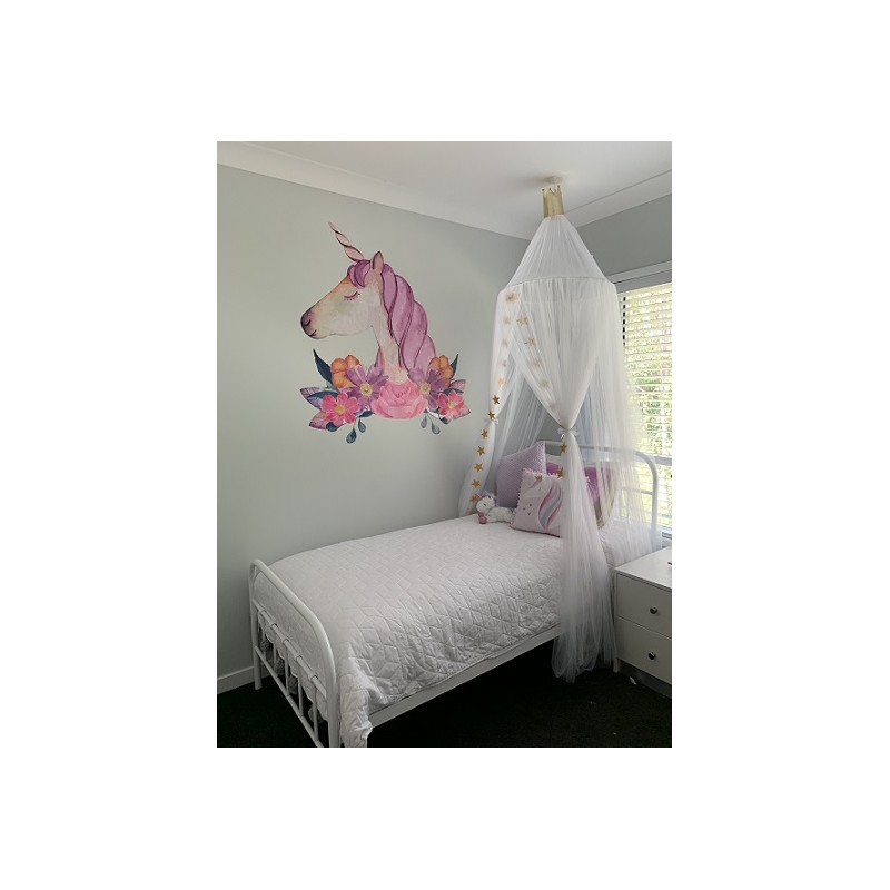 White Baby/Kids Bed Canopy