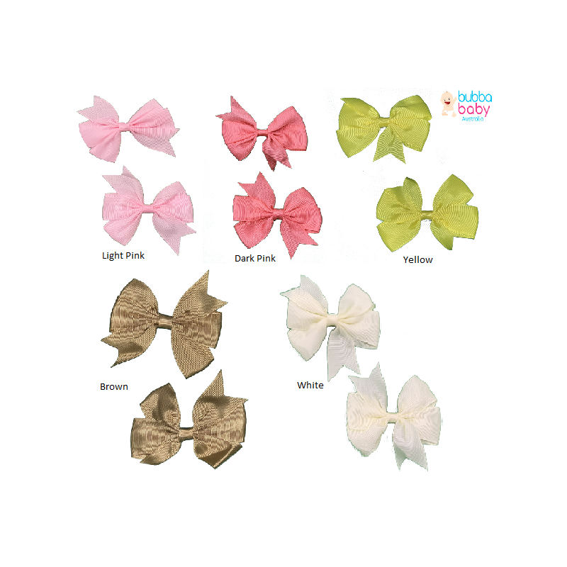 Butterfly Bow Hair Clips (2...