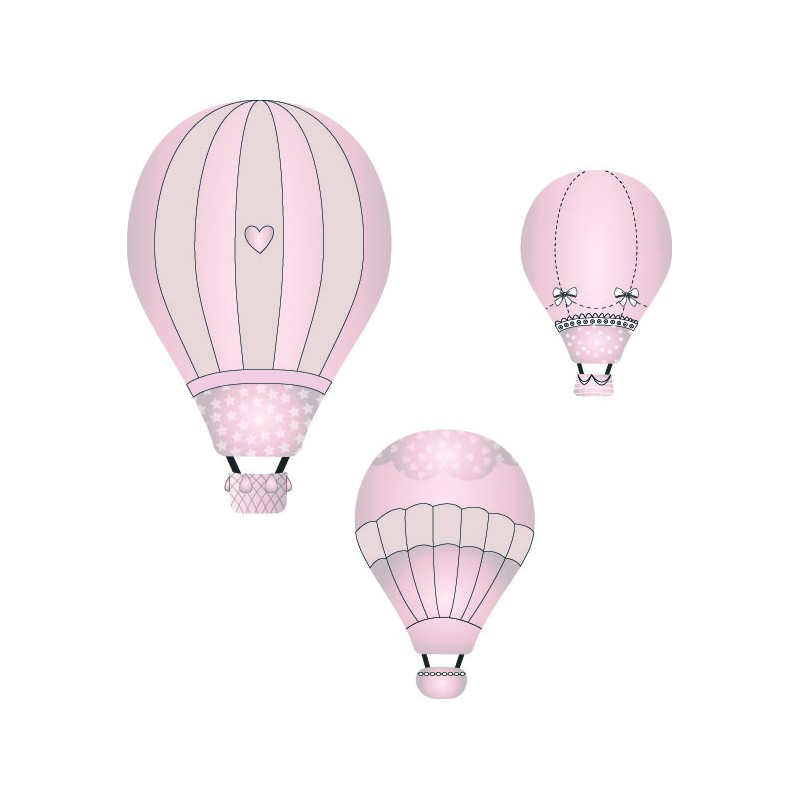 Pink Hot Air Balloon...