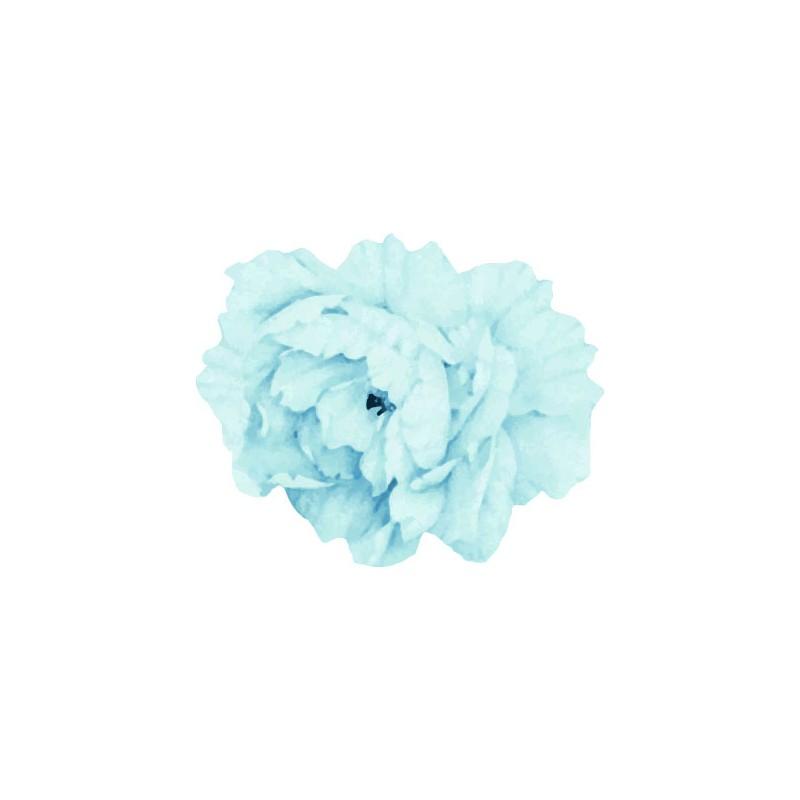 Large Blue Peony Flower...
