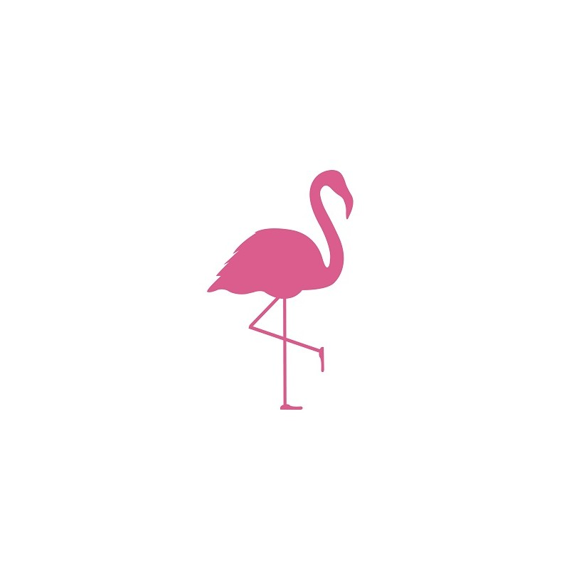 Medium Flamingo Removable...